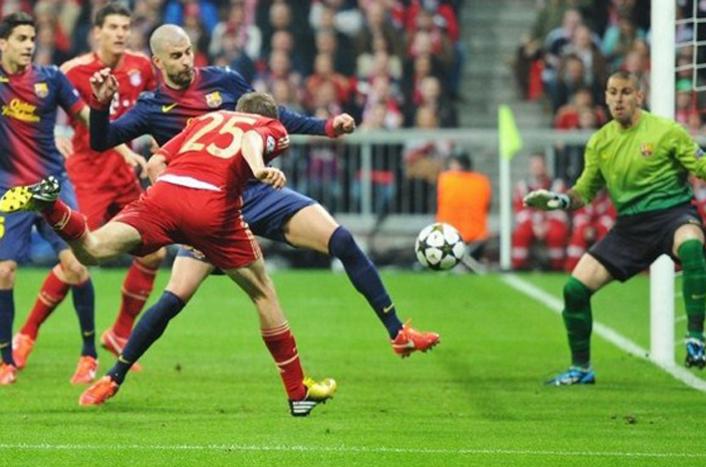 Бавария барселона история противостояний футбол