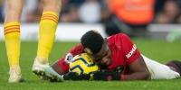 Поля Погба игрок «Манчестер Юнайтед» из-за травмы пропустил несколько матчей