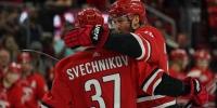 Шайбу Андрея Свечникова, которую он забил из-за ворот, признали лучшим моментом дня в НХЛ