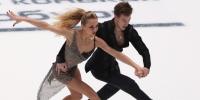 Фигуристы Синицина и Кацалапов удивили судей и одержали победу в ритм-танце на Гран-при России