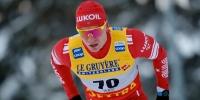 Александр Большунов показал лучший результат среди лыжников