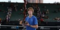 Андрей Рублёв выиграл подряд второй турнир