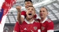 Новые футболки для сборной России продемонстрировала компания «Адидас»