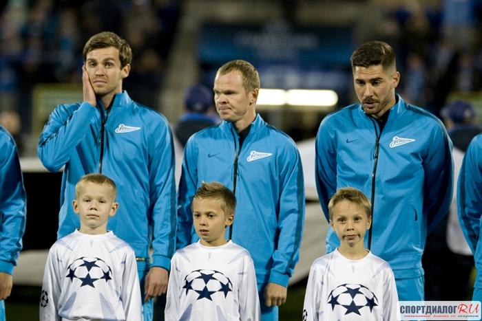 Играющий тренер в«Зените»: Анюков продлил договор спетербургским клубом