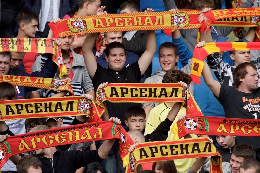 Победой туляков закончился матч «Арсенал»— «Динамо»
