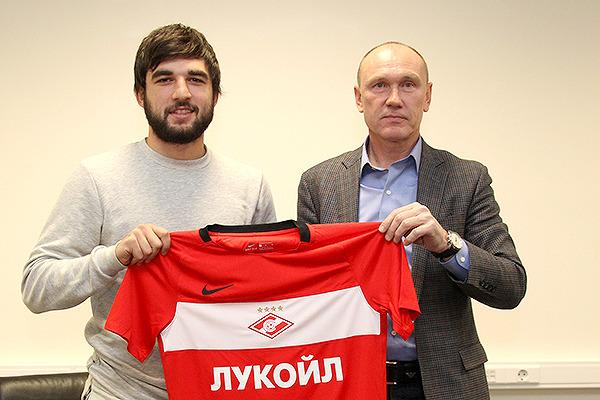 Джикия продлил договор со«Спартаком» до 2022г.