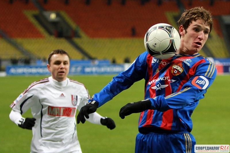 ЦСКА победил «Урал» вматче чемпионата Российской Федерации пофутболу
