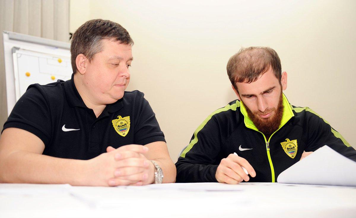 Адлан Кацаев— игрок «Анжи»