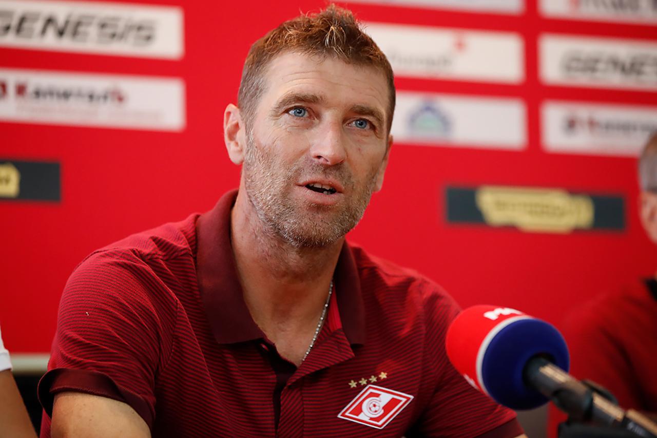 Промес вывел «Спартак» вперед вматче с«Арсеналом»