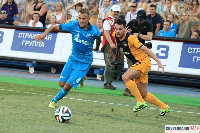 Защитник «Зенита» Кришито согласовал договор с«Дженоа»