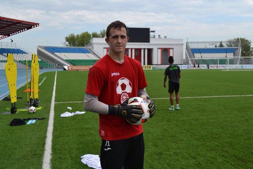 Лунев— лучший игрок «Уфы» осенью идекабре