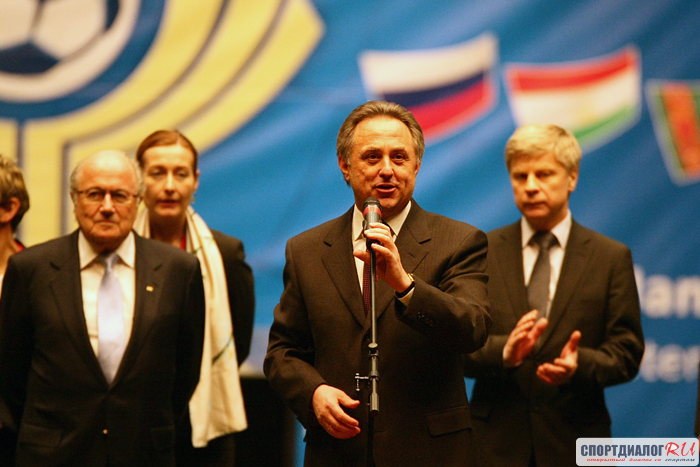 «Оценивать работу русских арбитров может специалист изГермании»— Виталий Мутко