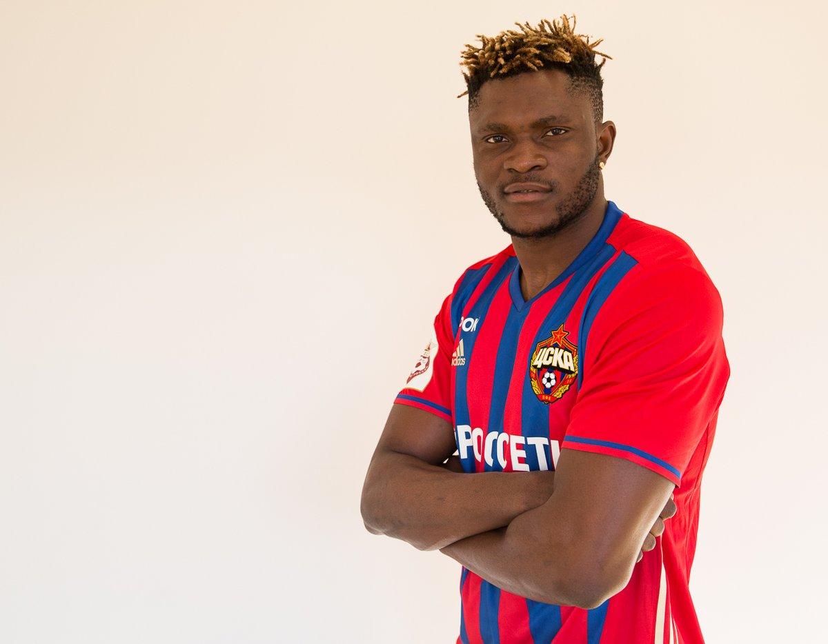 Футболист Муса объявил, что счастлив вернуться вЦСКА