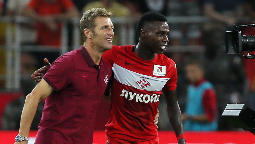 «Спартак» уверенно обыграл тульский «Арсенал» со счетом 2:0