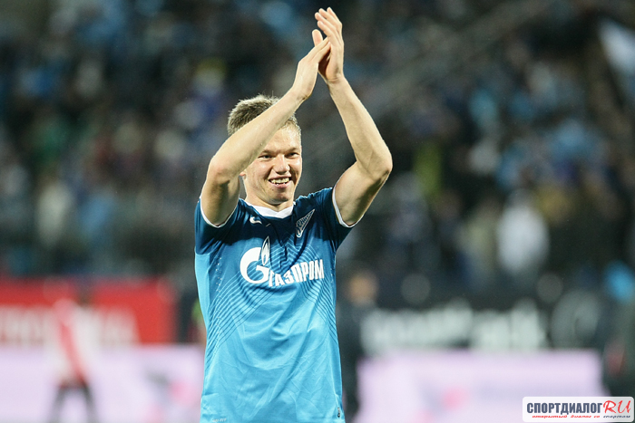 «Зенит» обыграл «Урал» благодаря голу Шатова своей бывшей команде