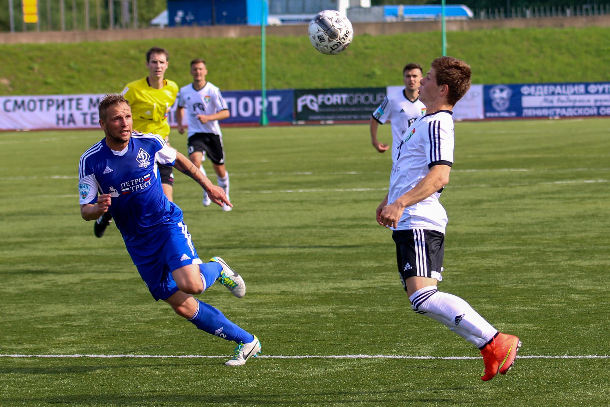 «Тосно» победило «Динамо» ивышло вчетвертьфинал Кубка РФ