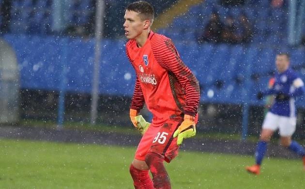 Клуб ФНЛ «Балтика» объявил опереходе вратаря Дениса Вамбольта в«Амкар»