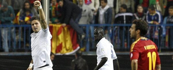 Футбол испания францыя время