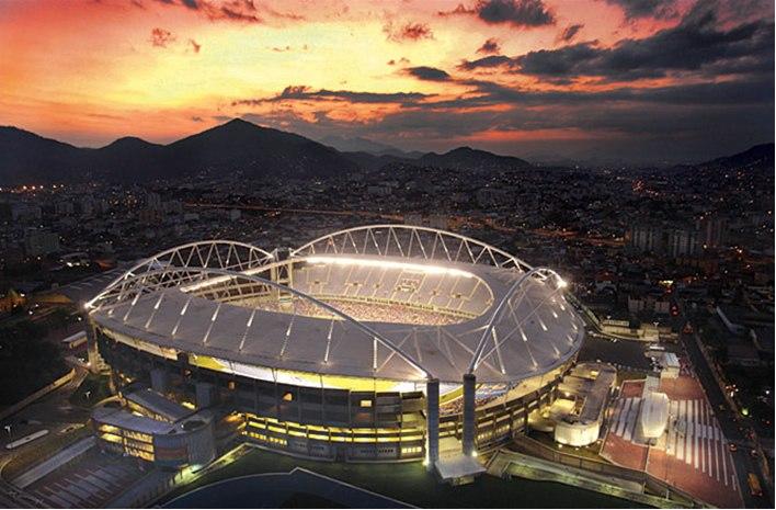 фото футбольных стадионов мира